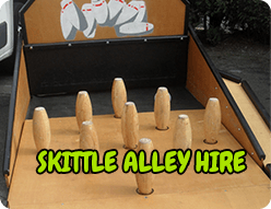 Skittle Alley Hire